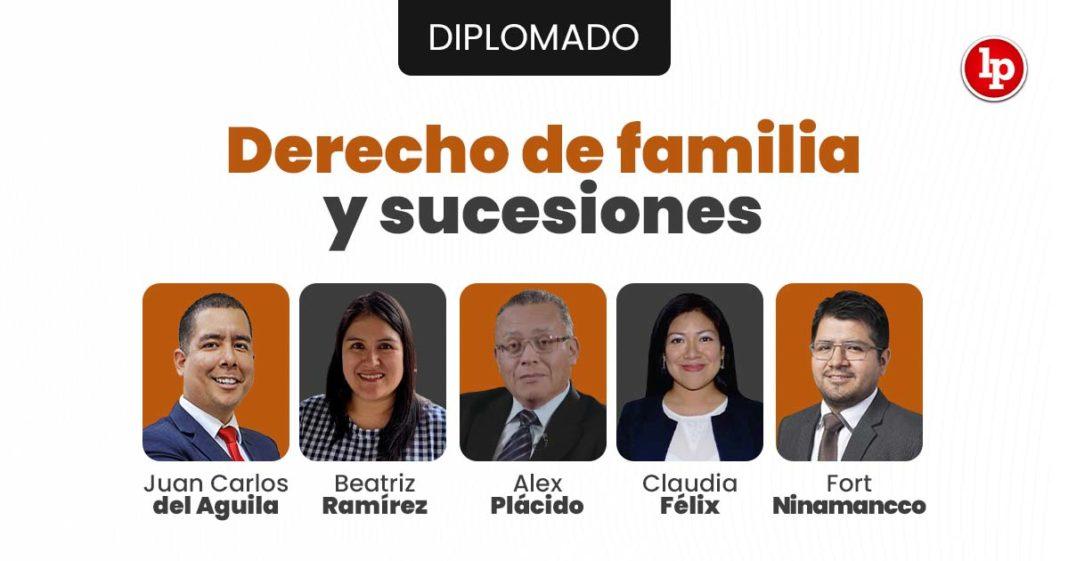 Diplomado en Derecho de familia y sucesiones. Inicio 10 de julio 2021