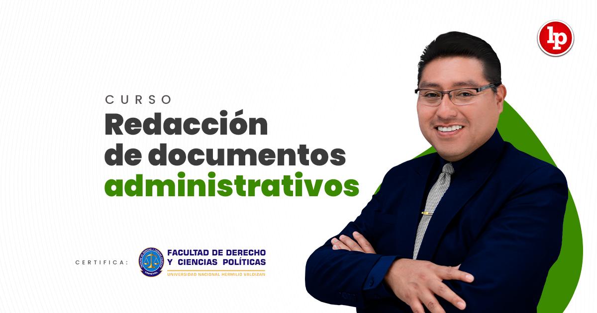 Curso de redacción de documentos administrativos. Inicio 3 de agosto 2021